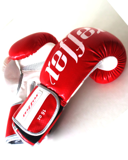 Boxing Gloves 16 oz Red