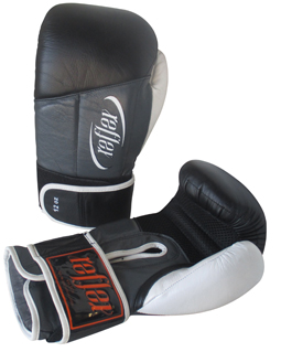 Boxing Glove Deluxe Leather  14oz