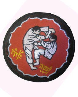 Sew on Judo badge appx 15 cm dia