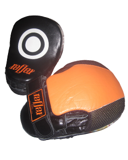 Focus Mitts Deluxe Leather Curved
