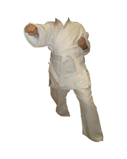 Karate suit beginners excellent quality white 3 pc set