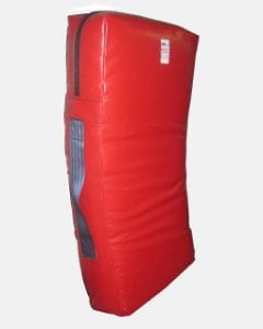 Pro kick shield or kick bag takes high impact regularly with safety grip to prevent hand breakage. Long lasting and very useful