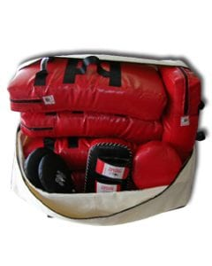 Dojo Carry all bag used to carry everything you need to run a dojo or club multiple shields mitts pads and gloves very strong longlasting and useful