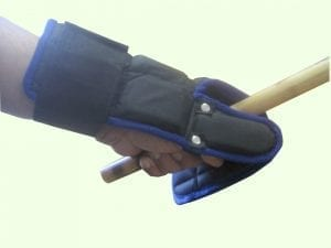 stick fighting gloves