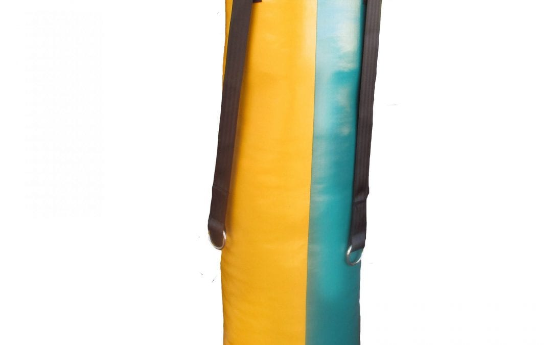 PUNCHING BAG 4 FOOT  123 cm long by 38 cm diameter  STRIPEY Range
