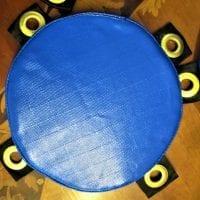 Wing Chun Dummy rubber Pad