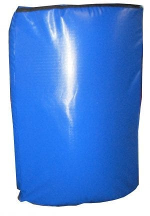 Body kick shield long wraps around body for